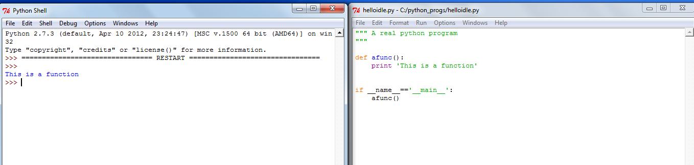 Using IDLE for Python Programming — Amit Saha: Technical Writings