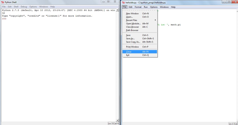 Using IDLE for Python Programming — Amit Saha: Technical